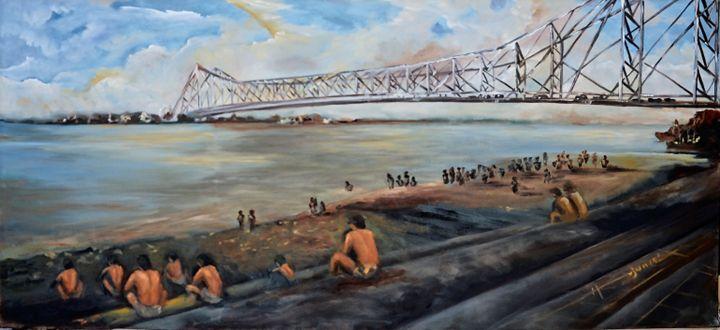 Howrah Bridge - Arjun Ghosh ART