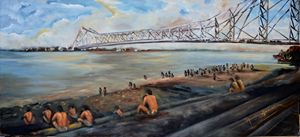 Howrah Bridge - Arjun Ghosh ART
