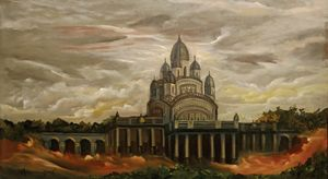 Dakshineswar Temple - Arjun Ghosh ART