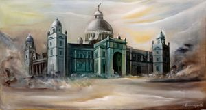 Flavours of India_Victoria Memorial - Arjun Ghosh ART