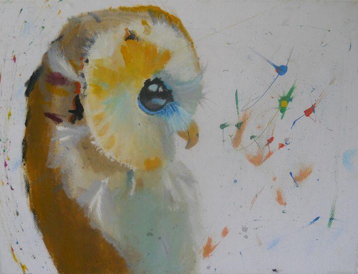 Modern Owl - the bearded artist