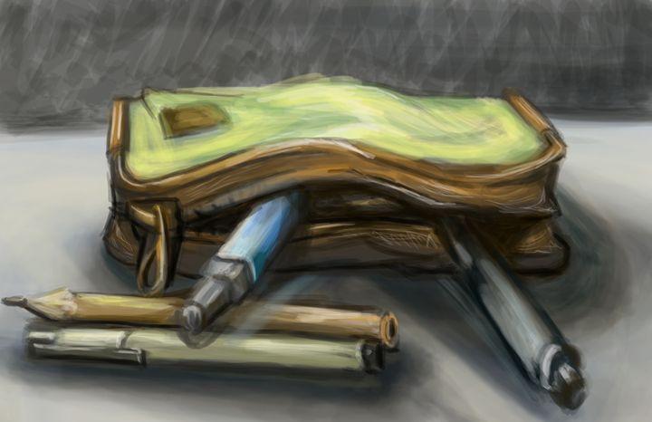 Pencil Case - Kendalle Alquwaie