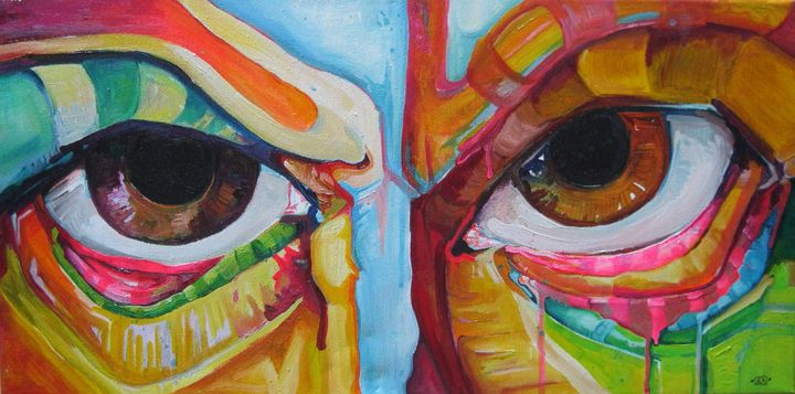 Angry Eyes - Kendalle Alquwaie