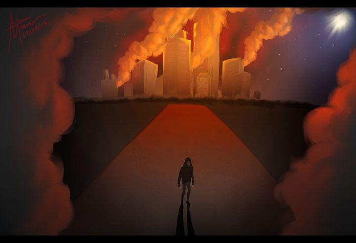 World's on fire - giantSwing