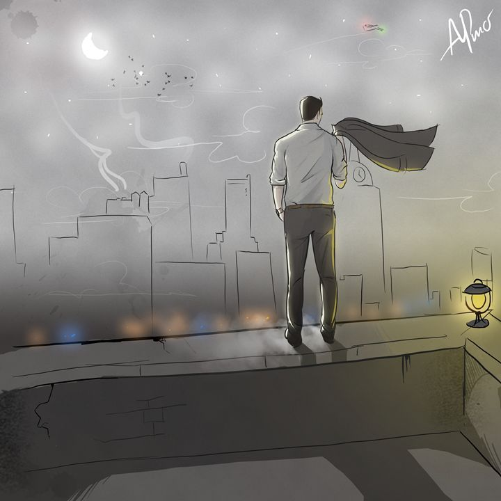 Rooftop view - giantSwing