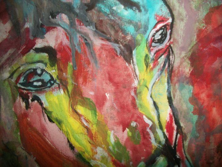The Colors of Dee Horse - True Elegance Art