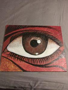 The eye that seethe all