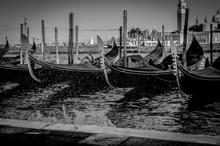 Row of Gondolas 02 - Anita Vincze