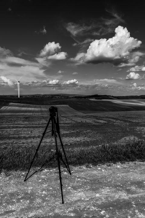 Tripod on the Field - Anita Vincze