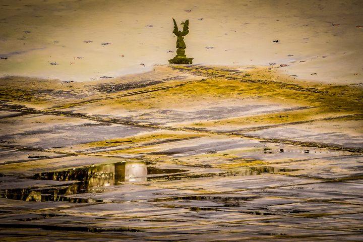 Statue in a Puddle - Anita Vincze