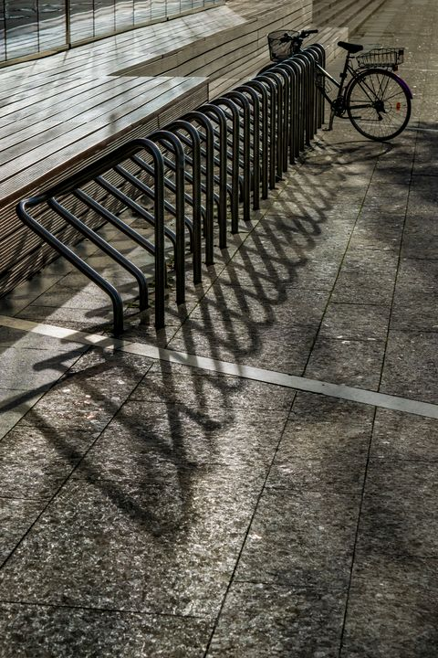 Lonely Bicycle - Anita Vincze