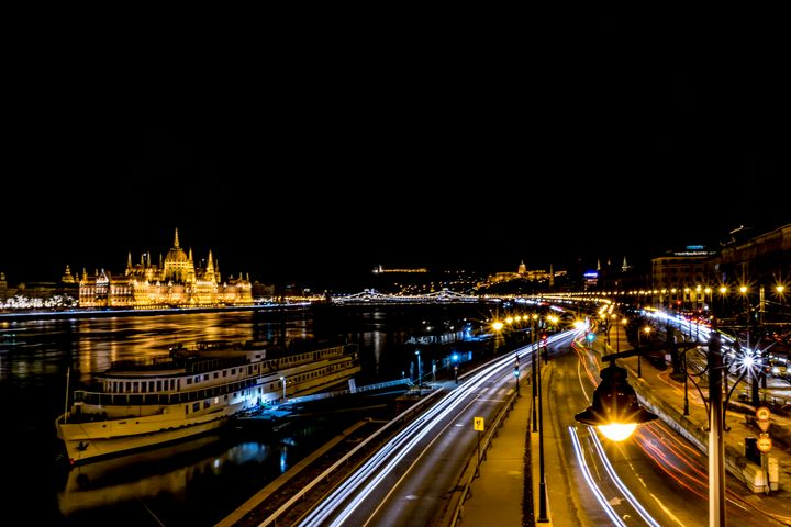 Lights of Budapest by Night - Anita Vincze