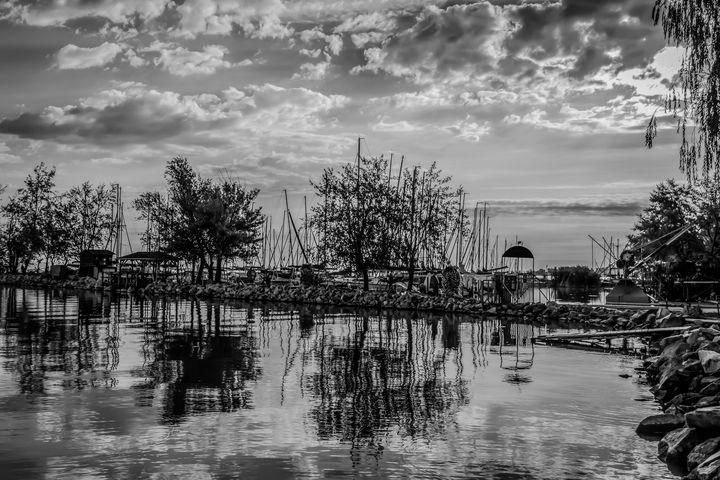 Clouds Floating on Water - Anita Vincze