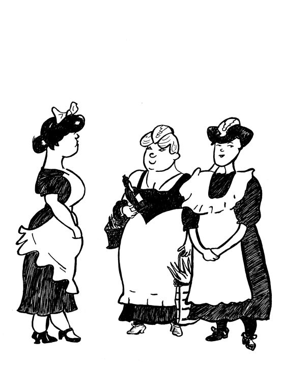 Three ladies - Above the noise 003