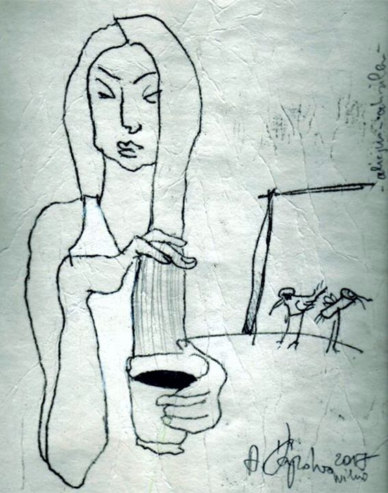morning cup - A.Šapoka