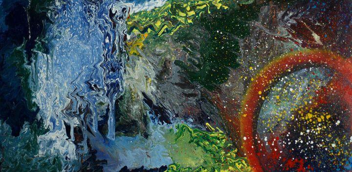 Collision of the elements - Alla Struchaieva