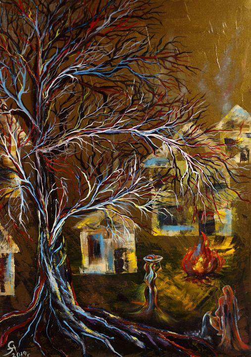 Village of Fire - Alla Struchaieva