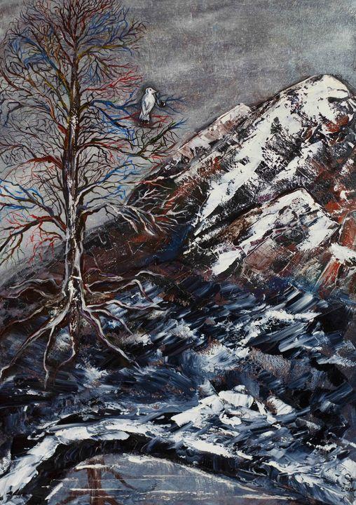 White crow - Alla Struchaieva