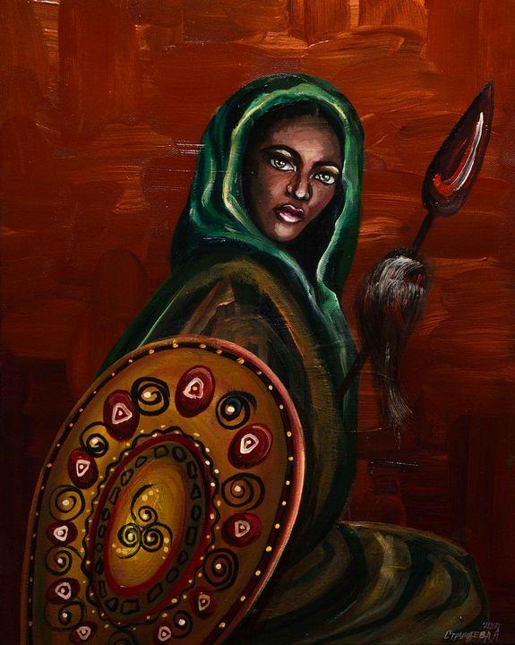 Warrior of Light - Alla Struchaieva