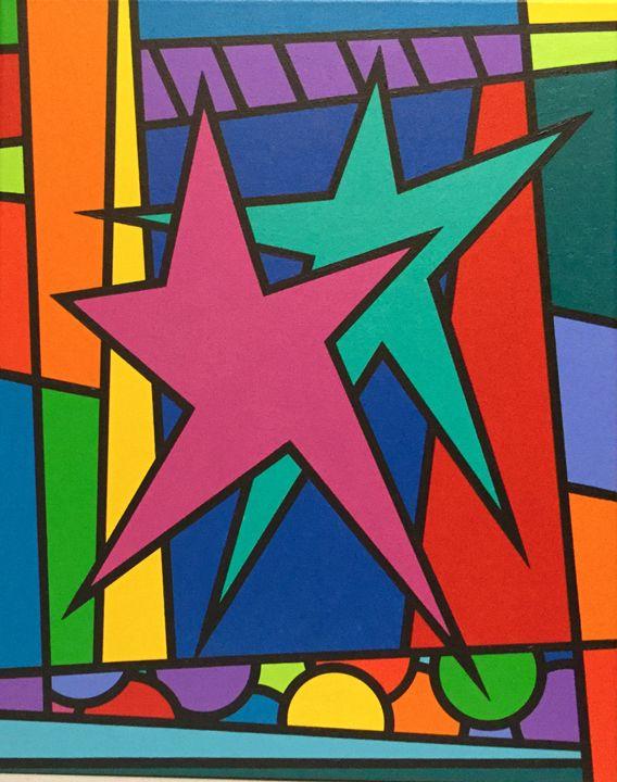 Happy Dancing Stars - Brian Wilson's Art