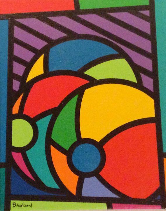 Beach Balls - Brian Wilson's Art
