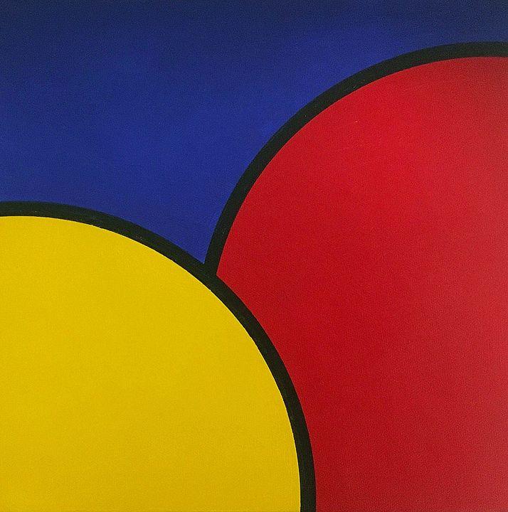 Red Yellow Blue - Brian Wilson's Art