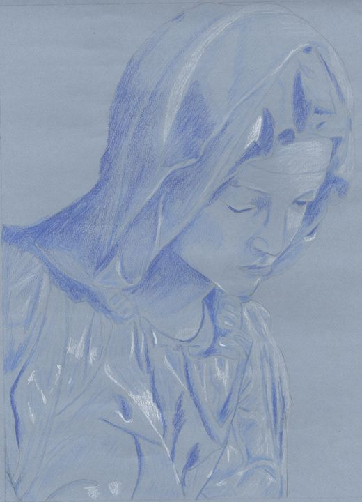 Madonna in Blue - Candy's Gallery