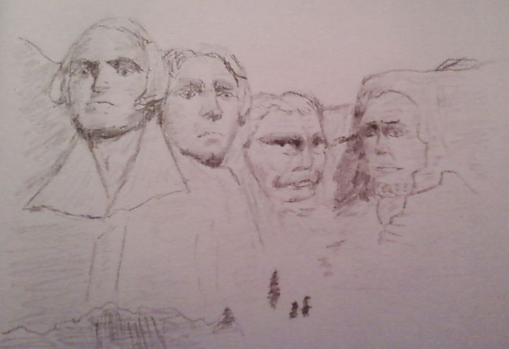Mt Rushmore - Candy's Gallery