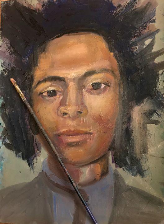 Basquiat - Portraits-My Papyruses