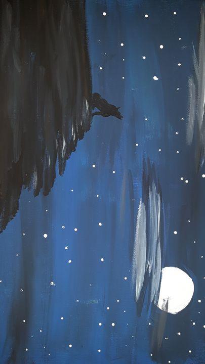 Night Call - Christina M's Art