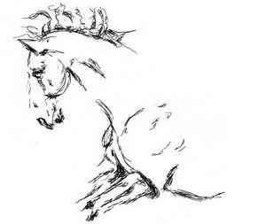 Art animalier : cheval