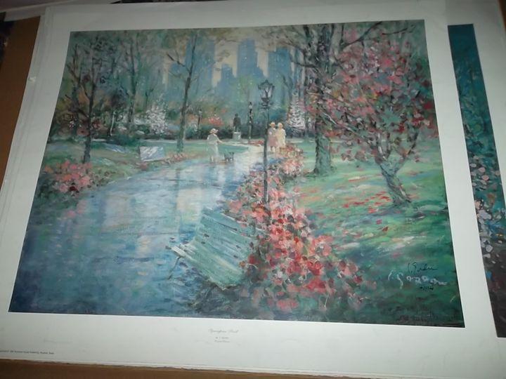 Springtime Stroll - L. Gordon Prints