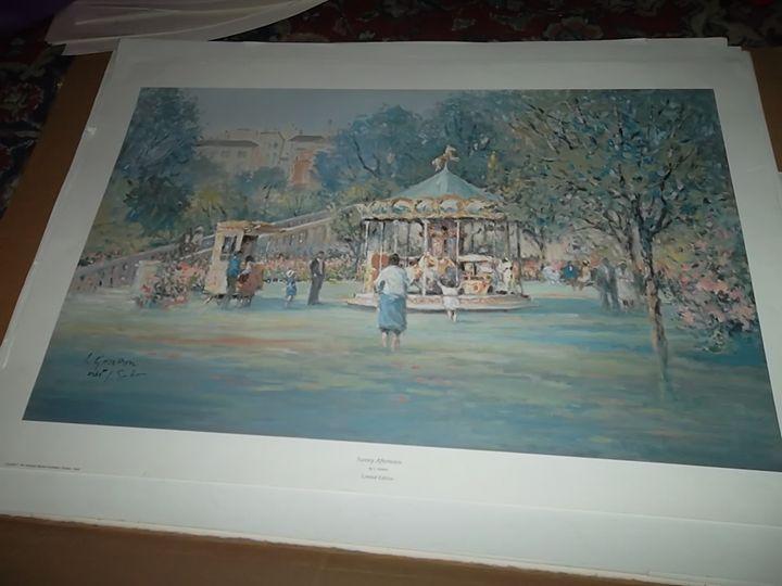 A Summer Place - L. Gordon Prints