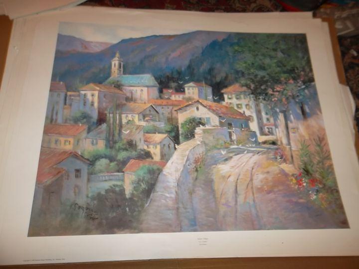 Italian Village - L. Gordon Prints