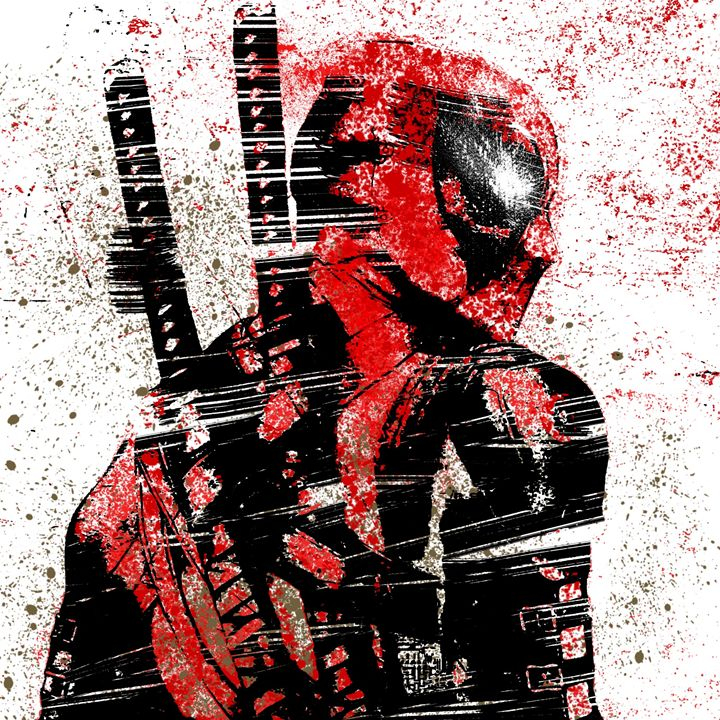 the dead pool artwork - Zarabea's World of Art