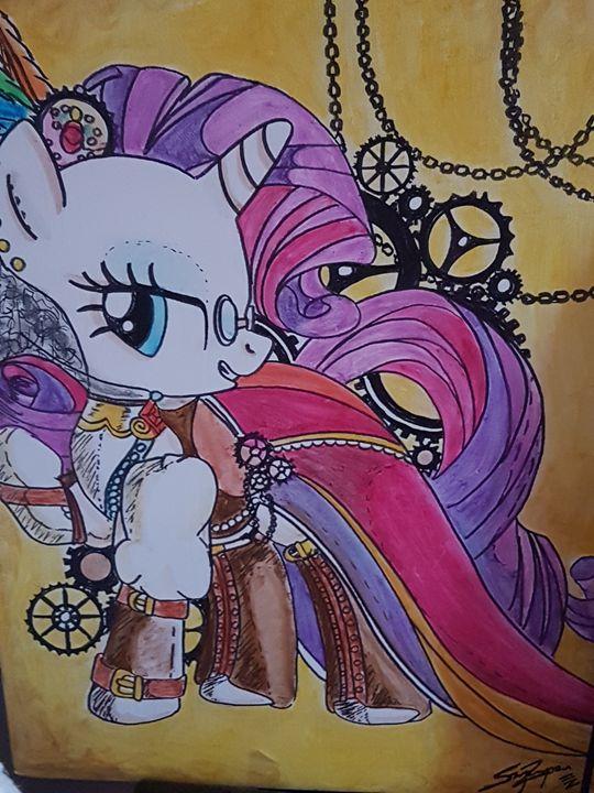 a rockstar pony - Zarabea's World of Art