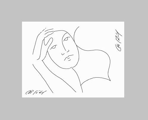 Pondering Women - David Friebel Art