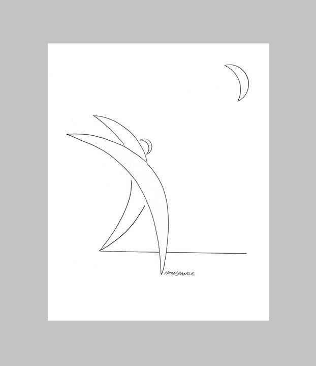 Moondance - David Friebel Art
