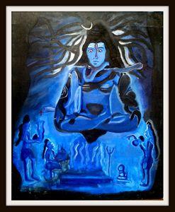 Aghori Tantrik Worshiping lord Shiva