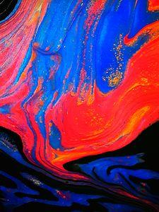 Aquatic Lava Flow