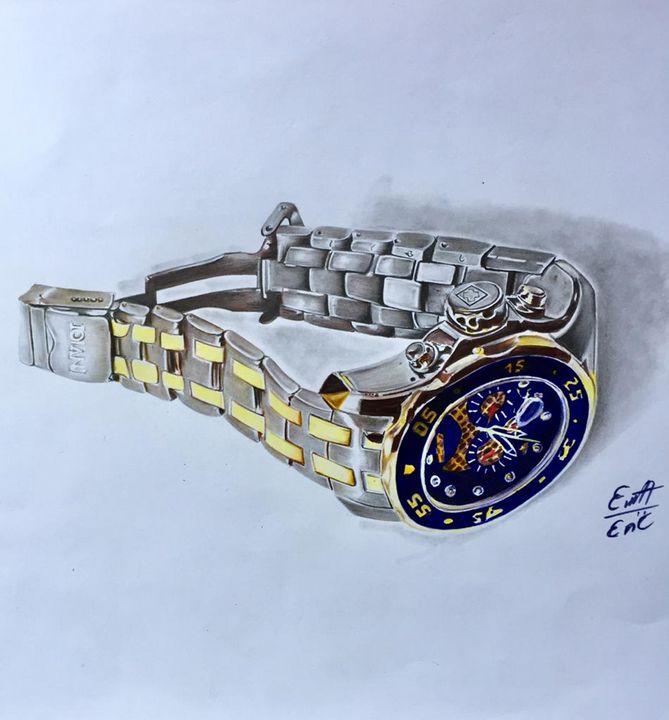 3D Wristwatch -  Princebanahene