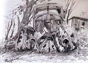 Old Vintage Car-4
