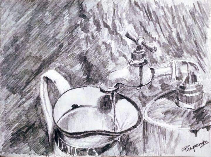 Water Tap-1 - Puspendu Roy Karmakar