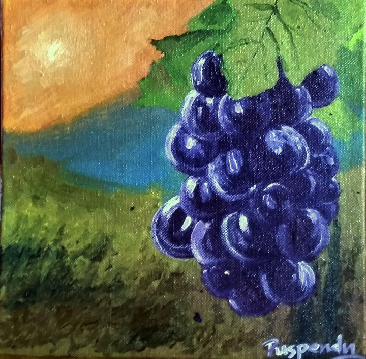 Hanging Grapes - Puspendu Roy Karmakar