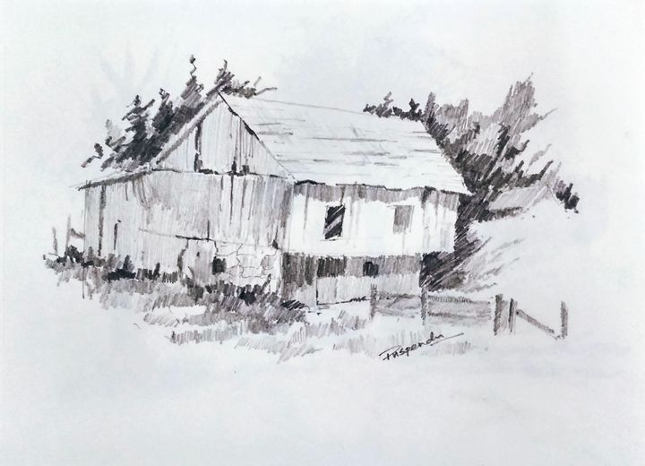 Old Hut-2 - Puspendu Roy Karmakar