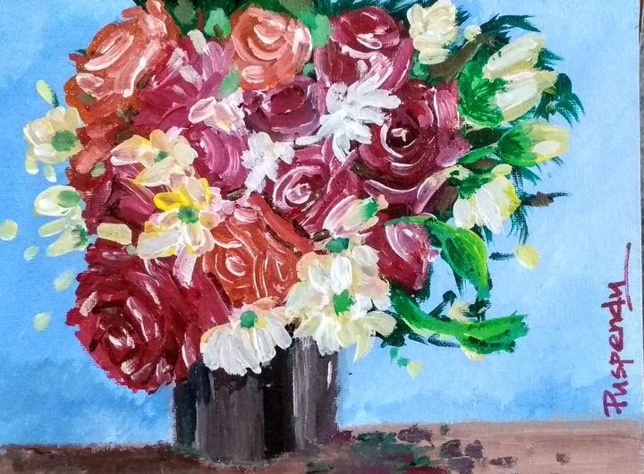 Flower Vase-1 - Puspendu Roy Karmakar