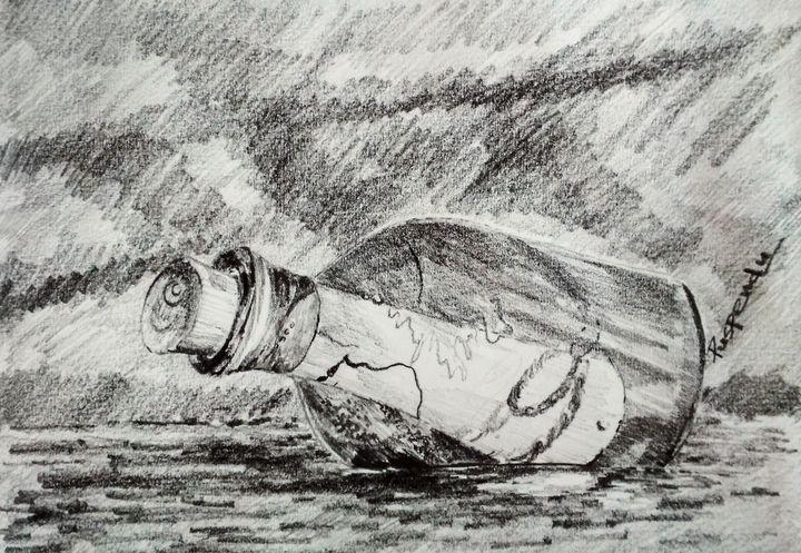 Message in a bottle - Puspendu Roy Karmakar