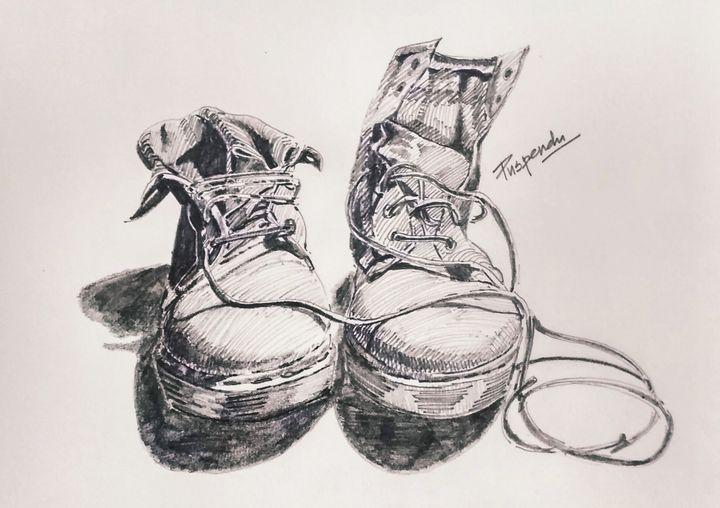 Pair of shoes-1 - Puspendu Roy Karmakar