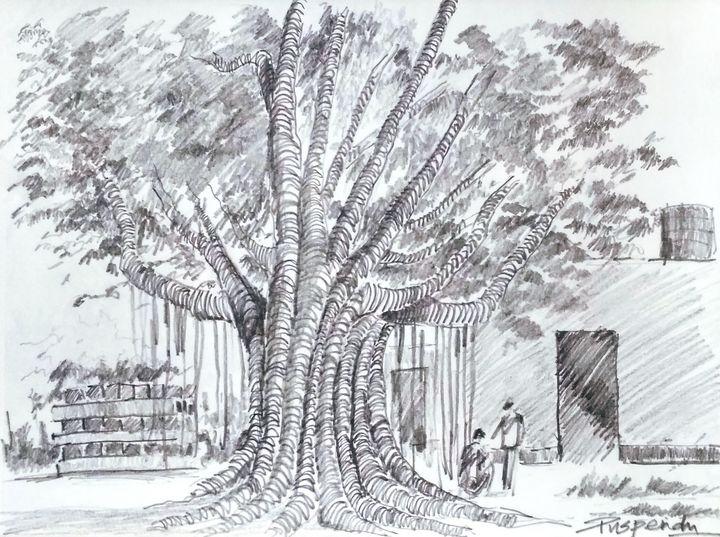 Banyan Tree-1 - Puspendu Roy Karmakar
