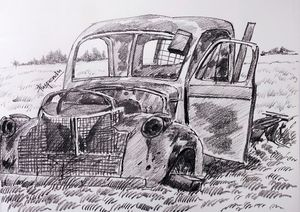 Old Vintage Car-8